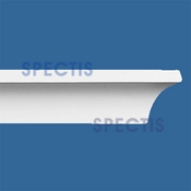 "Spectis Crown Moulding Trim MD1250 or MD 1250 Moulding - 1 1/2""P X 1 1/2""H X 12'0""L"