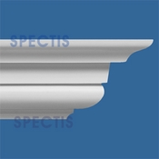 "Spectis Crown Moulding Trim MD1251 or MD 1251 Moulding - 9 1/2""P X 11 1/4""H X 12'0""L"