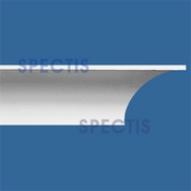 "Spectis Crown Moulding Trim MD1347 or MD 1347 Moulding - 6 1/2""P X 6 1/2""H X 12'0""L"