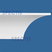 "Spectis Crown Moulding Trim MD1451 or MD 1451 Moulding - 12""P X 15""H X 12'0""L"