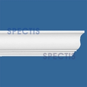 "Spectis Crown Moulding Trim MD1478 or MD 1478 Moulding - 1 3/4""P X 3 3/8""H X 12'0""L"