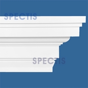 "Spectis Crown Moulding Trim MD1500 or MD 1500 Moulding - 12""P X 22""H X 12'0""L"