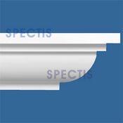 "Spectis Crown Moulding Trim MD1551 or MD 1551 Moulding - 18""P X 15""H X 12'0""L"