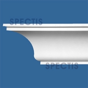"Spectis Crown Moulding Trim MD1605 or MD 1605 Moulding - 9""P X 11""H X 12'L"