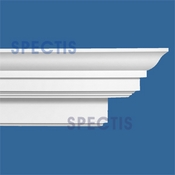"Spectis Crown Moulding Trim MD1611 or MD 1611 Moulding - 11 5/16""P X 14 3/4""H X 12'0""L"