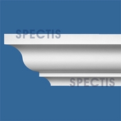 "Spectis Crown Moulding Trim MD1626 or MD 1626 Moulding - 4 7/8""P X 5 1/4""H X 12'L"