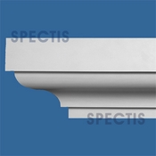"Spectis Crown Moulding Trim MD1665 or MD 1665 Moulding - 11""P X 13 1/4""H X 12'L"