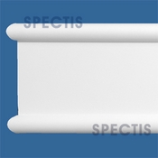 "Spectis Moulding Back Band Trim MD1640 or MD 1640 Moulding - 1 5/8""P X 8""H X 12'L"