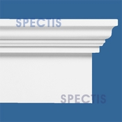 "Spectis Moulding Base Cap Trim MD1403 or MD 1403 Moulding - 4 1/2""P X 12""H X 12'0""L"