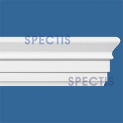"Spectis Moulding Base Cap Trim MD1425 or MD 1425 Moulding - 3 7/16""P X 7 1/4""H X 12'0""L"