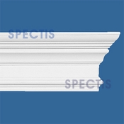 "Spectis Moulding Base Cap Trim MD1459 or MD 1459 Moulding - 2 1/16""P X 5 9/16""H X 12'0""L"