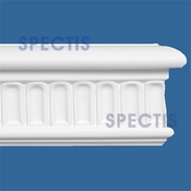 "Spectis Moulding Base Cap Trim MD1488 or MD 1488 Moulding - 1""P X 3 1/8""H X 12'0""L"