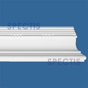 "Spectis Moulding Base Cap Trim MD1496 or MD 1496 Moulding - 1 3/16""P X 3 1/16""H X 12'0""L"