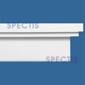 "Spectis Moulding Base Cap Trim MD1499 or MD 1499 Moulding - 4 1/2""P X 12""H X 12'0""L"