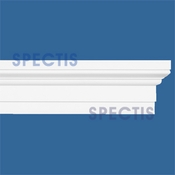 "Spectis Moulding Base Cap Trim MD1596 or MD 1596 Moulding - 1 1/2""P X 4 1/4""H X 12'0""L"