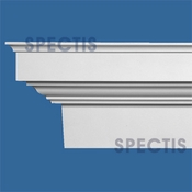 "Spectis Moulding Base Cap Trim MD1633 or MD 1633 Moulding - 4 3/4""P X 9 1/4""H X 12'L"