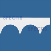 "Spectis Moulding Cap Trim MD1537 or MD 1537 Moulding - 1 1/2""P X 9 1/2""H X 12'0""L"