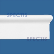 "Spectis Moulding Cap Trim MD1590 or MD 1590 Moulding - 1""P X 2 1/16""H X 12'0""L"
