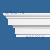 "Spectis Moulding Cap Trim MD1628 or MD 1628 Moulding - 3 1/2""P X 6 1/2""H X 12'L"