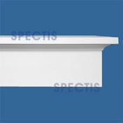 "Spectis Moulding Cap Trim MD1669 or MD 1669 Moulding - 3""P X 8 1/2""H X 12'L"