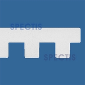 "Spectis Moulding Dentil Trim MD1070 or MD 1070 Moulding - 1""P X 3""H X 12'0""L"