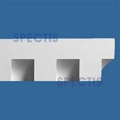 "Spectis Moulding Dentil Trim MD1080 or MD 1080 Moulding - 2 1/2""P X 5 1/4""H X 12'0""L"