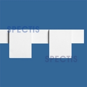 "Spectis Moulding Dentil Trim MD1092 or MD 1092 Moulding - 1 1/2""P X 4 1/2""H X 11'8""L"