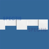 "Spectis Moulding Dentil Trim MD1373 or MD 1373 Moulding - 1 1/4""P X 3 3/8""H X 12'0""L"