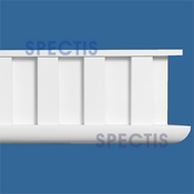 "Spectis Moulding Dentil Trim MD1392 or MD 1392 Moulding - 3""P X 14 1/4""H X 12'0""L"