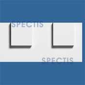 "Spectis Moulding Dentil Trim MD1414 or MD 1414 Moulding - 1 3/8""P X 9 1/2""H X 12'0""L"