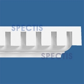 "Spectis Moulding Dentil Trim MD1421 or MD 1421 Moulding - 4 1/4""P X 5 7/8""H X 12'0""L"