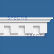 "Spectis Moulding Dentil Trim MD1426 or MD 1426 Moulding - 4 11/16""P X 7 1/4""H X 11' 11""L"