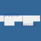 "Spectis Moulding Dentil Trim MD1497 or MD 1497 Moulding - 1 1/4""P X 4 1/2""H X 8'0""L"