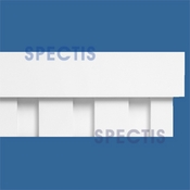 "Spectis Moulding Dentil Trim MD1583 or MD 1583 Moulding - 1 /12""P X 4 1/2""H X 12'0""L"