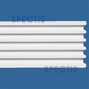 "Spectis Moulding Fluted Trim MD1290 or MD 1290 Moulding - 1""P X 5 1/4""H X 12'0""L"