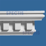 "Spectis Moulding Head Trim MD1175A - 4 3/4""P X 8 1/4""H X 12'0""L"
