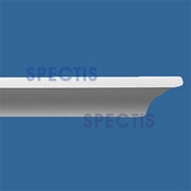"Spectis Moulding Nose Trim MD1131 or MD 1131 Moulding - 1""P X 2 1/8""H X 12'0""L"