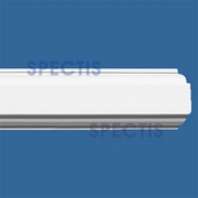 "Spectis Moulding Rail Trim MD1136 SPLIT - 9/16""P X 9/16""H X 12'0""L"