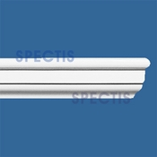"Spectis Moulding Rail Trim MD1138 or MD 1138 Moulding - 7/8""P X 1 3/4""H X 12'0""L"