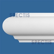 "Spectis Moulding Rail Trim MD1620 or MD 1620 Moulding - 2 3/4""P X 4 3/16""H X 12'L"