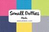 Small Dotties - Single Fat Quarter