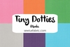 Tiny Dotties - Single Fat Quarter
