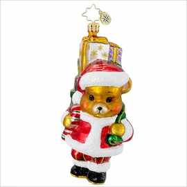 A Bear Who Cares Pediatric Cancer Charity Awareness  Radko   Ornament