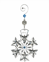 2013 Waterford Snowflake Wishes Goodwill Ornament