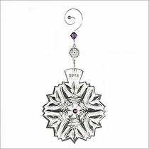 2015 Waterford Snowflake Wishes Health Ornament