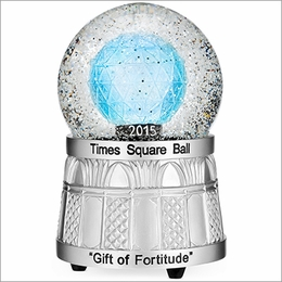 2015 Waterford Times Square Snow Globe