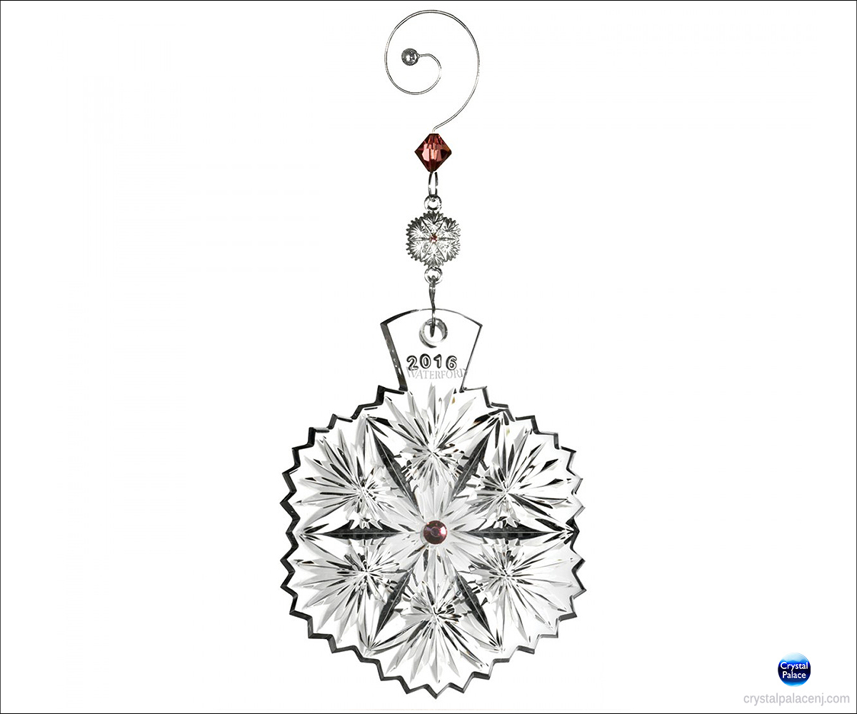2016 Waterford Crystal Snowflake Wishes Serenity Christmas ...