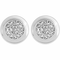 Swarovski Stone Stud Pierced Earrings