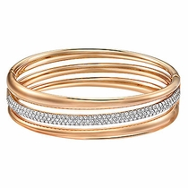 Swarovski Exact Bangle rose gold
