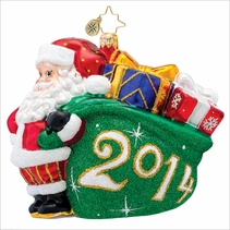 (SOLD OUT) A Jolly Year Radko   Ornament